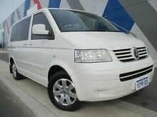 2007 Volkswagen Multivan T5 Comfortline White 6 Speed Sports Automatic Wagon Bunbury 6230 Bunbury Area Preview