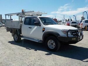 2009 Ford Ranger White Manual Cab Chassis Pakenham Cardinia Area Preview