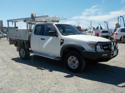 2009 Ford Ranger White Manual Cab Chassis