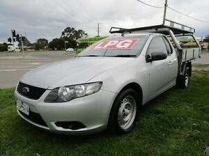 2010 Ford Falcon Silver Automatic Cab Chassis Carrum Downs Frankston Area Preview