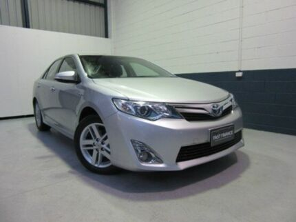 2012 Toyota Camry AVV50R Hybrid HL Silver Pearl 1 Speed Constant Variable Sedan Windsor Gardens Port Adelaide Area Preview