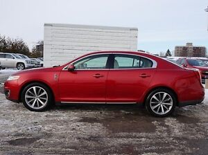 2010 LINCOLN MKS 3.5L Twin-turbo, 6-speed Auto, Dual Roof, NAV Peterborough Peterborough Area image 3