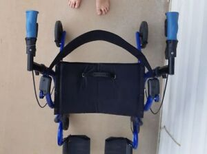 USED Airgo Fusion F20 Side-Folding Rollator & Transport Chair
