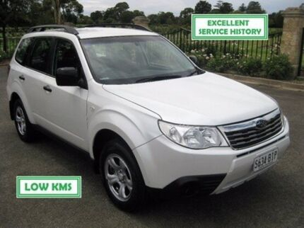 2008 Subaru Forester S3 MY09 X AWD White 4 Speed Sports Automatic Wagon Enfield Port Adelaide Area Preview