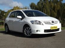 2012 Toyota Corolla ZRE152R MY11 Ascent White 4 Speed Automatic Hatchback Old Reynella Morphett Vale Area Preview