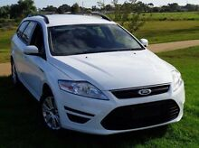 2012 Ford Mondeo MC LX White 6 Speed Sports Automatic Wagon Elizabeth Playford Area Preview