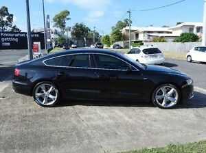 2010 Audi A5 8T MY11 Sportback Multitronic Black 8 Speed Constant Variable Hatchback Morningside Brisbane South East Preview