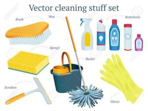 All types commercials and residential cleaning services