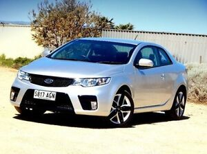2010 Kia Cerato TD MY10 Koup Silver 5 Speed Manual Coupe Christies Beach Morphett Vale Area Preview