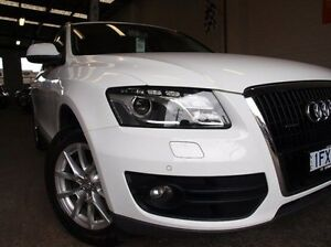 2010 Audi Q5 8R MY10 TDI S tronic quattro White 7 Speed Sports Automatic Dual Clutch Wagon Highett Bayside Area Preview