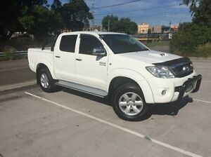 2011 Toyota Hilux KUN26R MY10 SR5 White 4 Speed Automatic Utility Wolli Creek Rockdale Area Preview