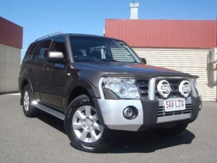 2009 Mitsubishi Pajero NT MY09 GLS Ironbark 5 Speed Auto Seq Sportshift Wagon Gladstone Gladstone City Preview
