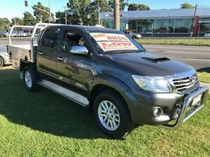 2015 Toyota Hilux KUN26R MY14 SR5 Double Cab Grey 5 Speed Automatic Utility Ferntree Gully Knox Area Preview