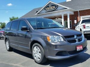 2016 Dodge Grand Caravan SXT, Stow N' Go, Low Km's, Very Clean