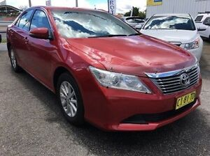 2014 Toyota Aurion GSV50R AT-X Red 6 Speed Sports Automatic Sedan Wodonga Wodonga Area Preview