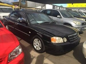 2004 Kia Optima GD Black 4 Speed Sports Automatic Sedan Maidstone Maribyrnong Area Preview