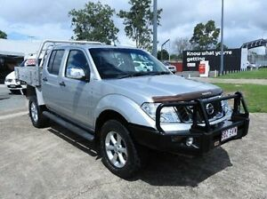 2012 Nissan Navara D40 S5 MY12 ST-X 550 Silver 7 Speed Sports Automatic Utility Morningside Brisbane South East Preview