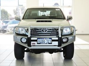 2013 Toyota Hilux KUN26R MY12 SR5 (4x4) Silver 5 Speed Manual Dual Cab Pick-up Morley Bayswater Area Preview