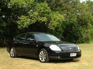 2004 Nissan Maxima J31 TI Black 4 Speed Automatic Sedan Albion Brisbane North East Preview