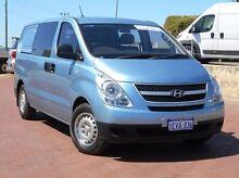 2011 Hyundai iLOAD TQ-V Crew Cab Blue 5 Speed Sports Automatic Van Spearwood Cockburn Area Preview