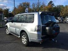 2014 Mitsubishi Pajero NW MY14 GLX-R Silver 5 Speed Sports Automatic Wagon Invermay Launceston Area Preview