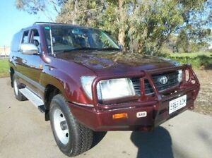 1998 Toyota Landcruiser Red Automatic Wagon Mile End South West Torrens Area Preview