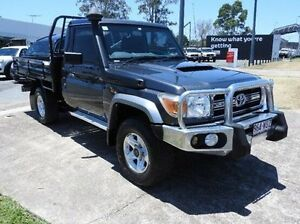 2011 Toyota Landcruiser VDJ79R MY10 GXL 5 Speed Manual Cab Chassis Morningside Brisbane South East Preview