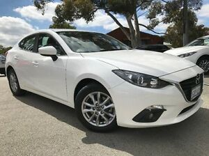 2016 Mazda 3 BM5278 Maxx SKYACTIV-Drive White 6 Speed Sports Automatic Sedan Melville Melville Area Preview