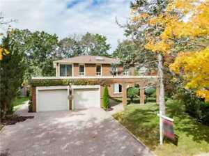 3+1BDRM 5BATH HOME,74X140 FT.LOT PRESTIGIOUS LORNE PARK(W4282153