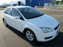 2006 Ford Focus LS LX White 4 Speed Sports Automatic Hatchback Hyde Park Townsville City Preview