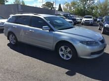 2006 Mazda 6 GY1032 Classic Silver 5 Speed Automatic Wagon Heidelberg Heights Banyule Area Preview