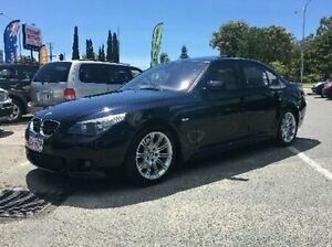 2007 BMW 530D E60 MY08 Steptronic Blue 6 Speed Sports Automatic Sedan