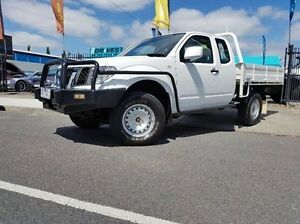 2012 Nissan Navara D40 S7 MY12 RX King Cab White 5 Speed Automatic Cab Chassis Dandenong Greater Dandenong Preview