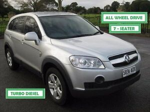 2009 Holden Captiva CG MY09.5 SX AWD Silver 5 Speed Sports Automatic Wagon Enfield Port Adelaide Area Preview