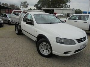2008 Ford Falcon  White Automatic Cab Chassis Hastings Mornington Peninsula Preview