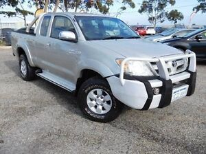 2005 Toyota Hilux GGN25R MY05 SR5 Xtra Cab Silver 5 Speed Manual Utility Pearsall Wanneroo Area Preview