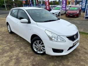 2015 Nissan Pulsar C12 Series 2 ST White Continuous Variable Hatchback Dapto Wollongong Area Preview