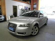 2005 Audi A3 8P Ambition Sportback Silver 6 Speed Manual Hatchback Heidelberg Heights Banyule Area Preview