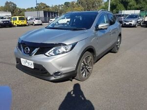 2016 Nissan Qashqai J11 TI (4x2) Silver Continuous Variable Wagon Ringwood East Maroondah Area Preview