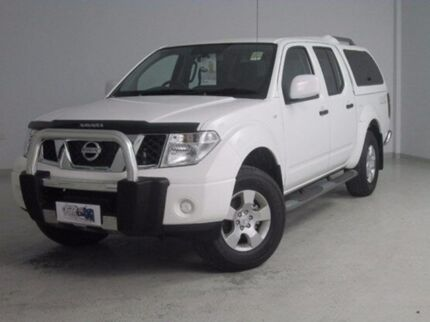 2014 Nissan Navara D40 S9 White 6 Speed Manual Utility Mount Gambier Grant Area Preview
