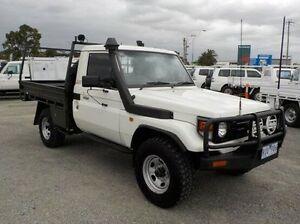 2002 Toyota Landcruiser White Manual Cab Chassis Pakenham Cardinia Area Preview