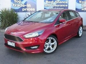 2016 Ford Focus LZ Titanium Red 6 Speed Automatic Hatchback Bundoora Banyule Area Preview