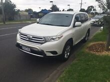 2012 Toyota Kluger GSU45R MY12 KX-R AWD White 5 Speed Sports Automatic Wagon Maidstone Maribyrnong Area Preview
