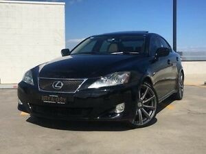 2007 Lexus IS250 GSE20R Sports Luxury Black 6 Speed Sports Automatic Sedan Kings Park Blacktown Area Preview