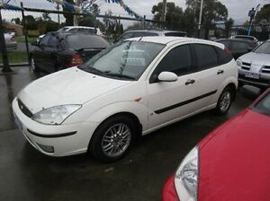 2004 Ford Focus LR MY2003 CL White 4 Speed Automatic Hatchback Fawkner Moreland Area Preview