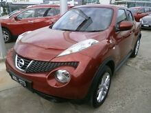 2013 Nissan Juke F15 MY14 Ti-S AWD Red 1 Speed Constant Variable Hatchback Blackburn Whitehorse Area Preview
