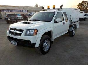 2011 Holden Colorado White Manual Cab Chassis