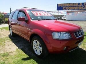 2006 Ford Territory SY Ghia AWD Red 6 Speed Sports Automatic Wagon Carrum Downs Frankston Area Preview