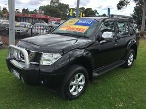 2008 Nissan Pathfinder R51 MY08 ST-L Black 5 Speed Sports Automatic Wagon Ferntree Gully Knox Area Preview