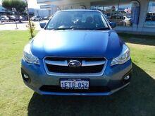 2015 Subaru Impreza  Blue Constant Variable Sedan Victoria Park Victoria Park Area Preview